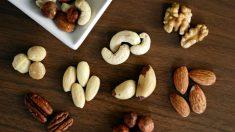 Los frutos secos son el snack perfecto ya que son saciantes y saludables