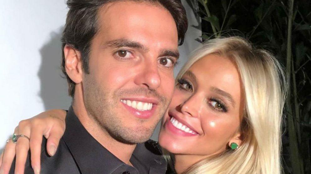 Kaká, junto a su mujer Carolina Dias. (Instagram)