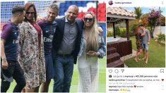 Las respuestas de Neymar y su padre a la publicación de Nadine Gonçalves.