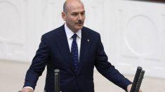 Suleyman Soylu, ministro del Interior de Turquía. (Afp)