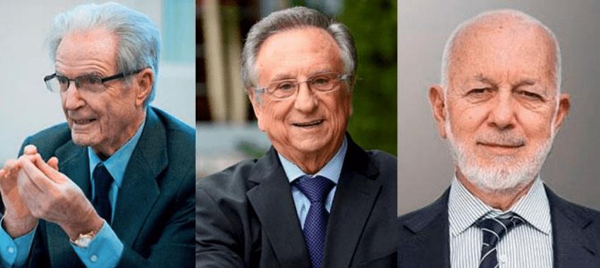 Antonio Garrigues, Tomás Fuertes y José García Carrión.