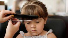 Pasos para cortar el pelo de niños y niñas en casa