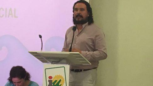 Fernando Macías, de IU.