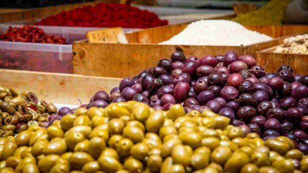 Las aceitunas y la nutrición