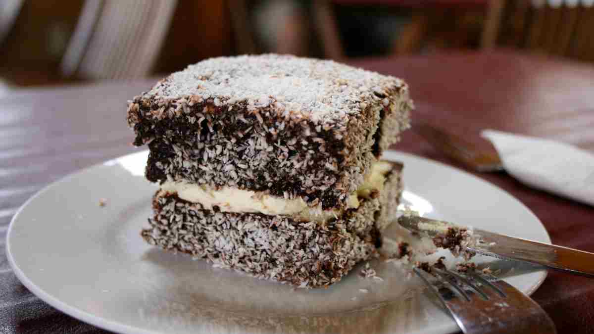 Receta de pastelitos lamington