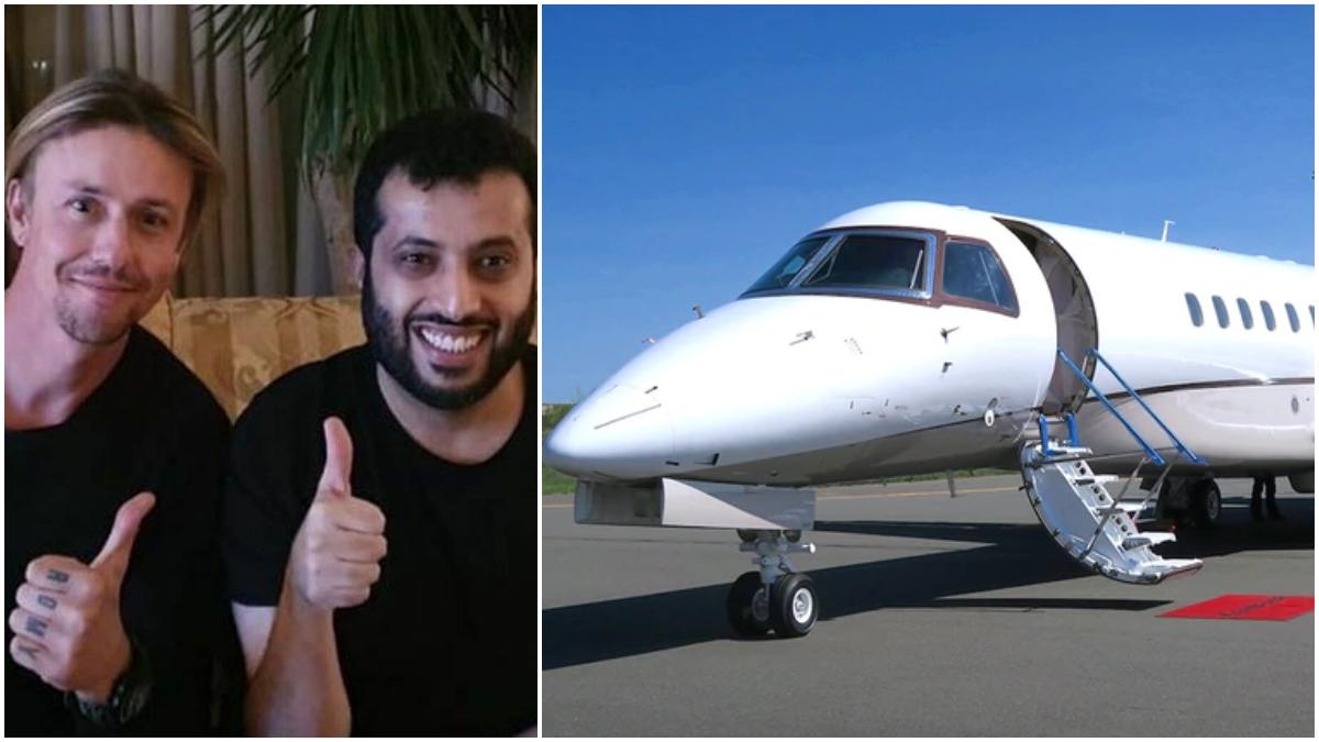 Turki Al-Sheikh, con Guti y un avión privado.