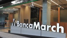 Una oficina de Banca March en Madrid.