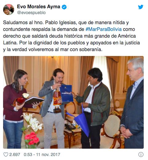 Iglesias y Montero se reunieron en secreto en Bolivia con la diputada de Morales que negoció los pagos a Neurona
