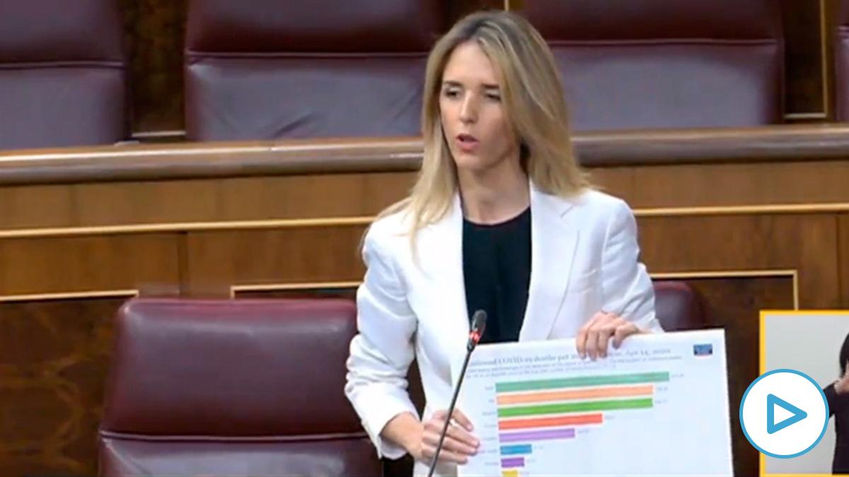 Cayetana Álvarez de Toledo en el Congreso.