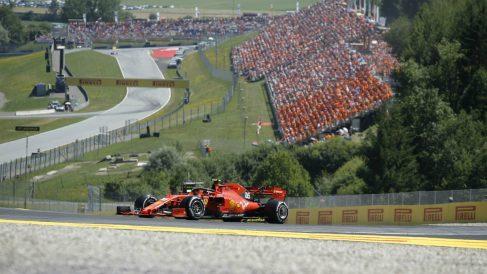 Imagen del GP de Austria de Fórmula 1.