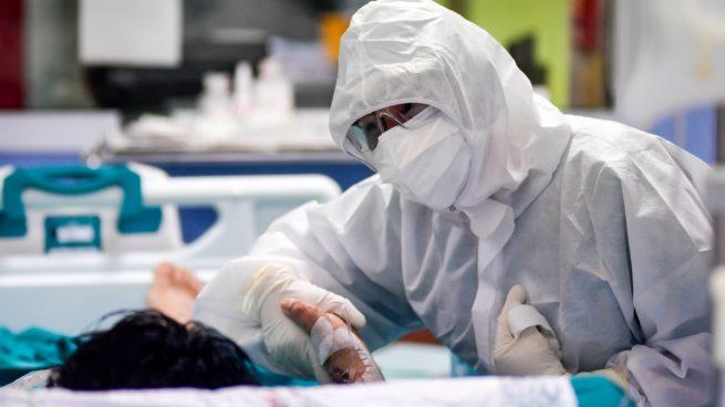 Un trabajador sanitario.