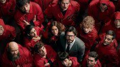 'La casa de papel' un éxito en Netflix