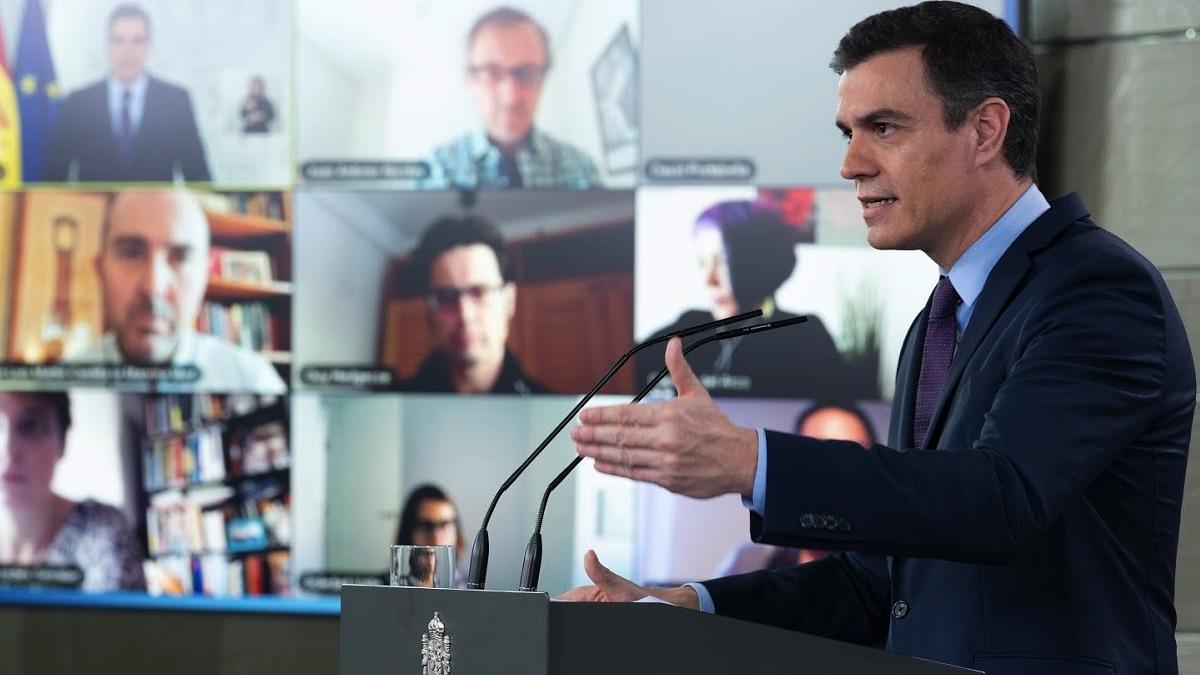 Pedro Sanchez, presidente del Gobierno