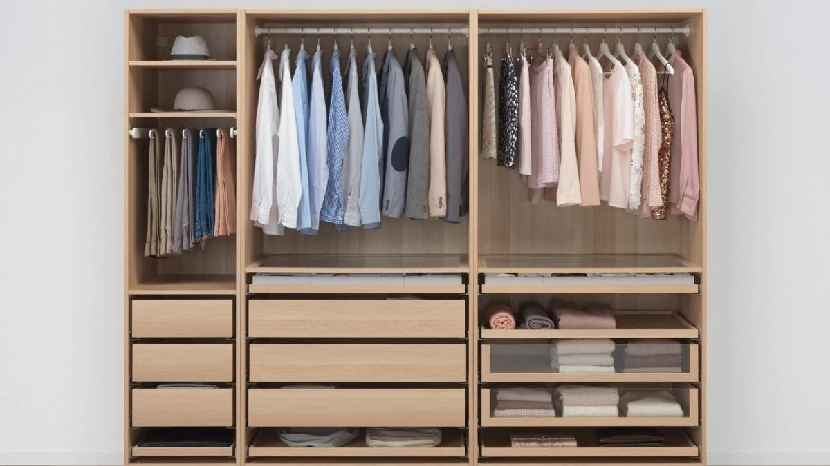 Tener los armarios bien organizados es imprescindible para mantener el orden