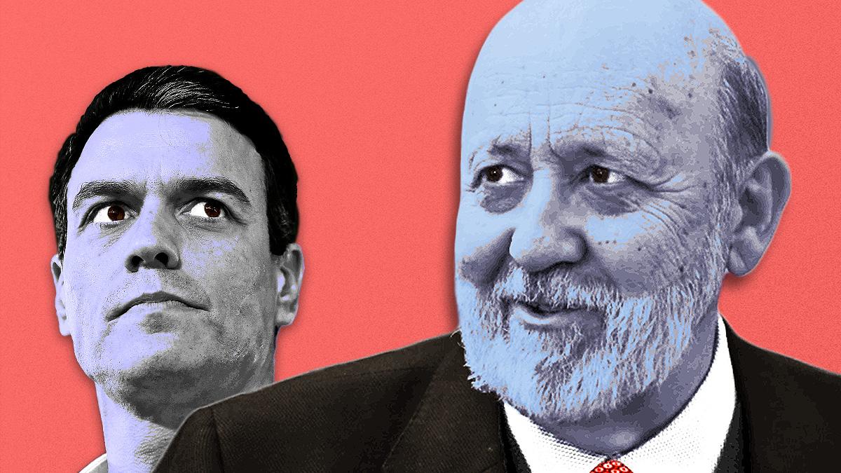 José Félix Tezanos y Pedro Sánchez.