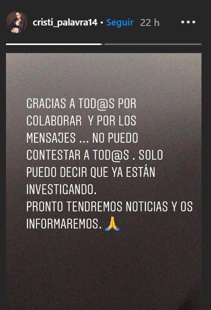 El segundo mensaje de la mujer de Dani Rodríguez.