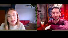 David Broncano entrevista por videollamada a Ester Expósito