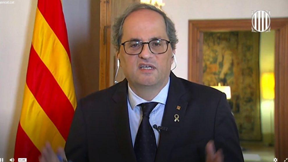 El presidente de la Generalitat, Quim Torra (Foto: EP).