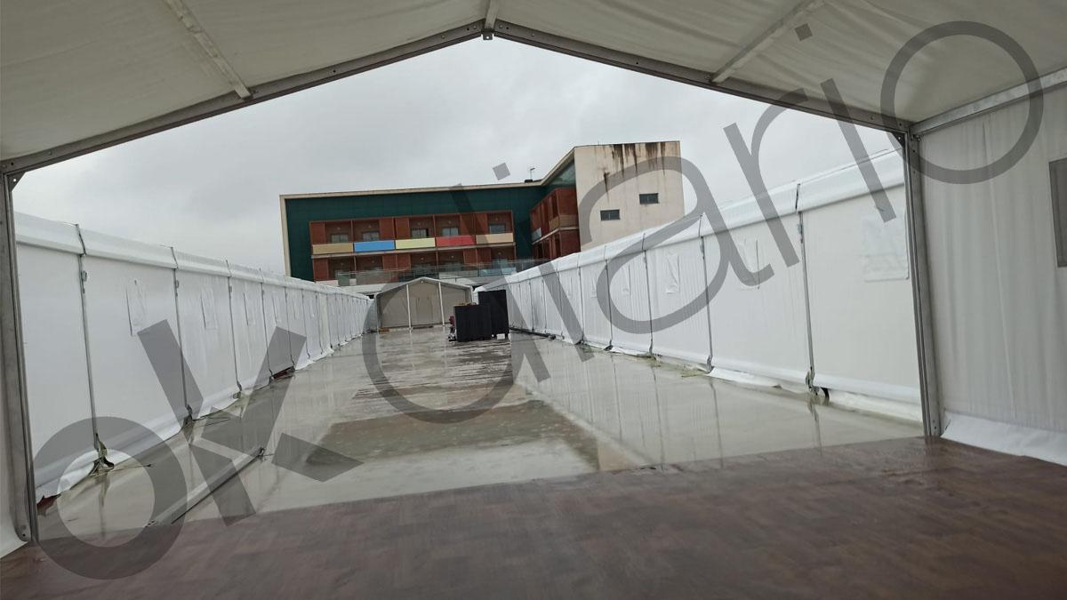 Hospital de campaña en la Comunidad Valenciana