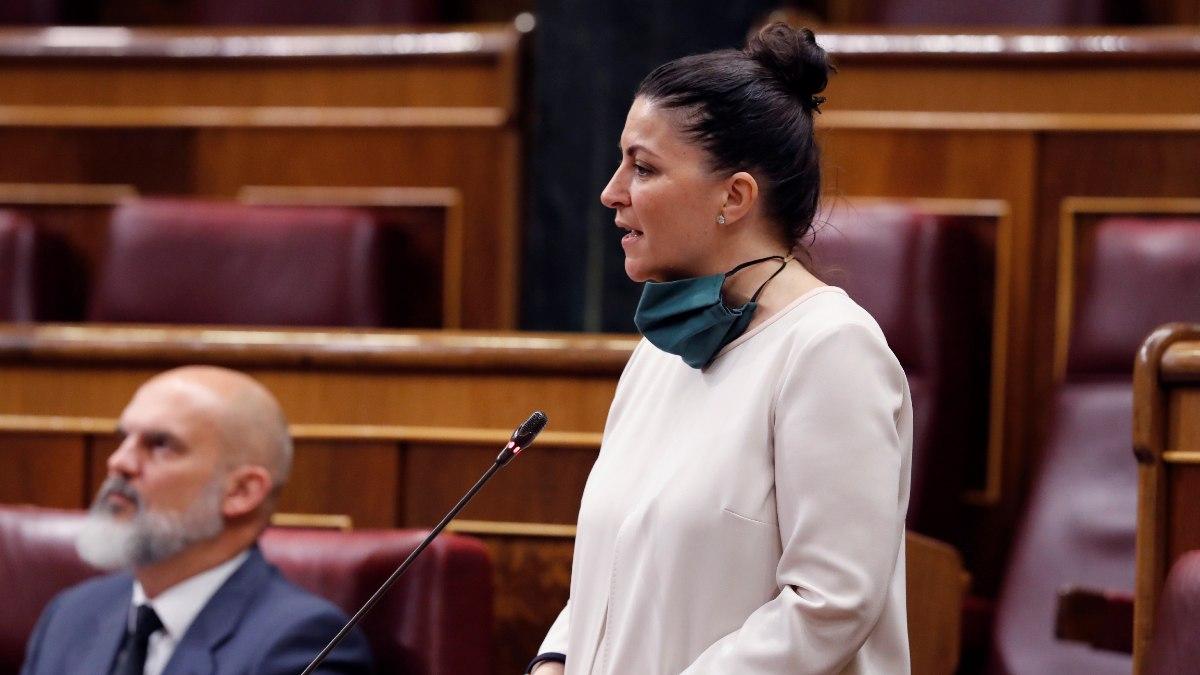 Macarena Olona, portavoz adjunta de Vox en el Congreso.