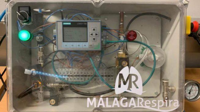 Recibe una donación de 25.000 euros de Endesa el respirador fabricado en Andalucía