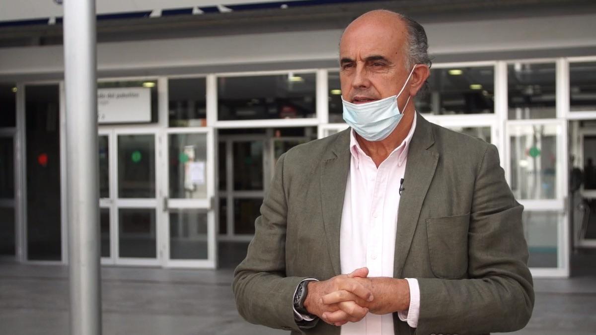 Antonio Zapatero, director del hospital de Ifema. (Foto: Comunidad)