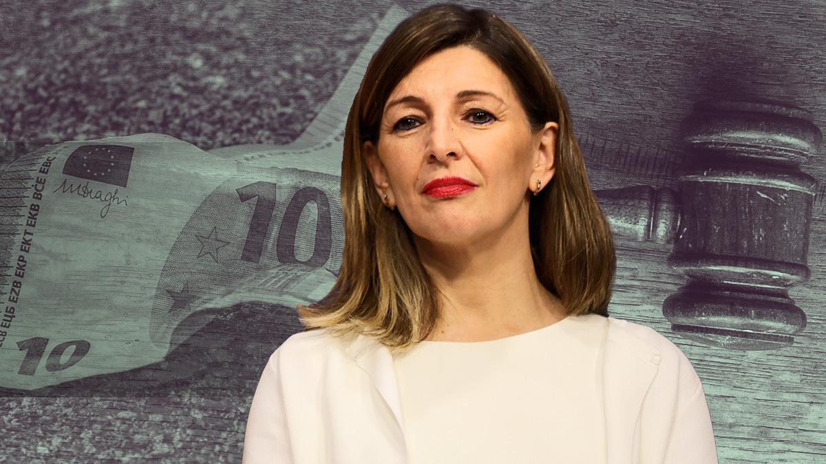 La ministra de Trabajo, Yolanda Díaz.