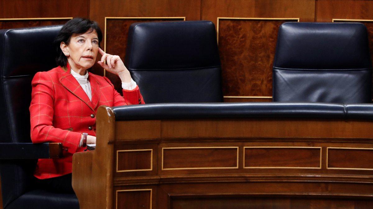 La ministra de Educación, Isabel Celaá (Foto: EP).