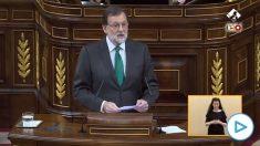 Mariano Rajoy en 2018: «Se van a comer mis Presupuestos con patatas».