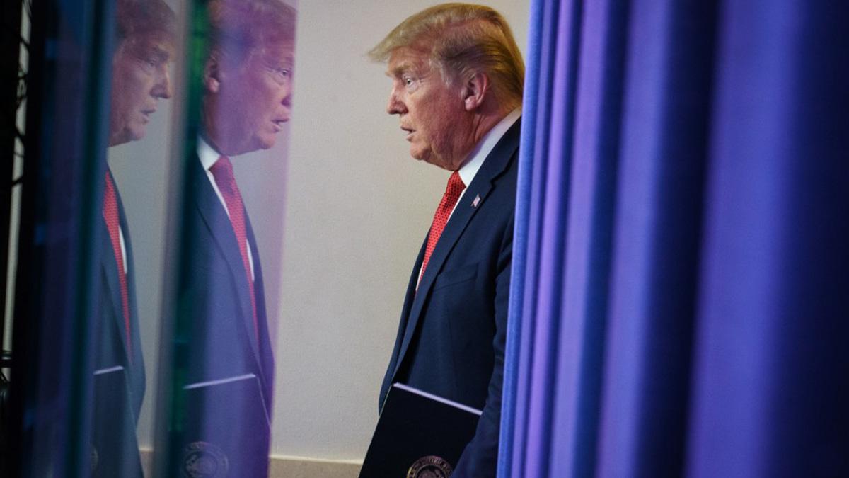 Donald Trump, presidente de los Estados Unidos de Norteamérica. Foto: AFP