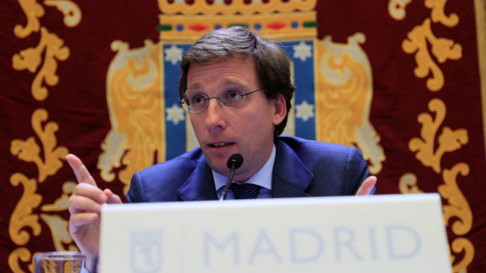 El alcalde de Madrid, José Luis Martínez-Almeida. (EFE)