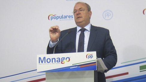 José Antonio Monago, presidente del PP de Extremadura.