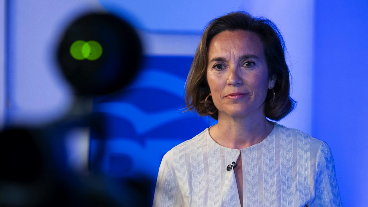 La portavoz del PP en el Congreso de los Diputados, Cuca Gamarra (Foto: PP).