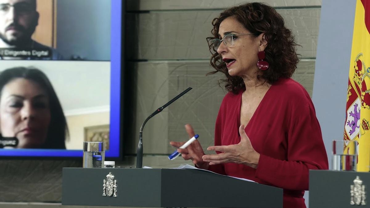 María Jesús Montero. (Foto: Moncloa)