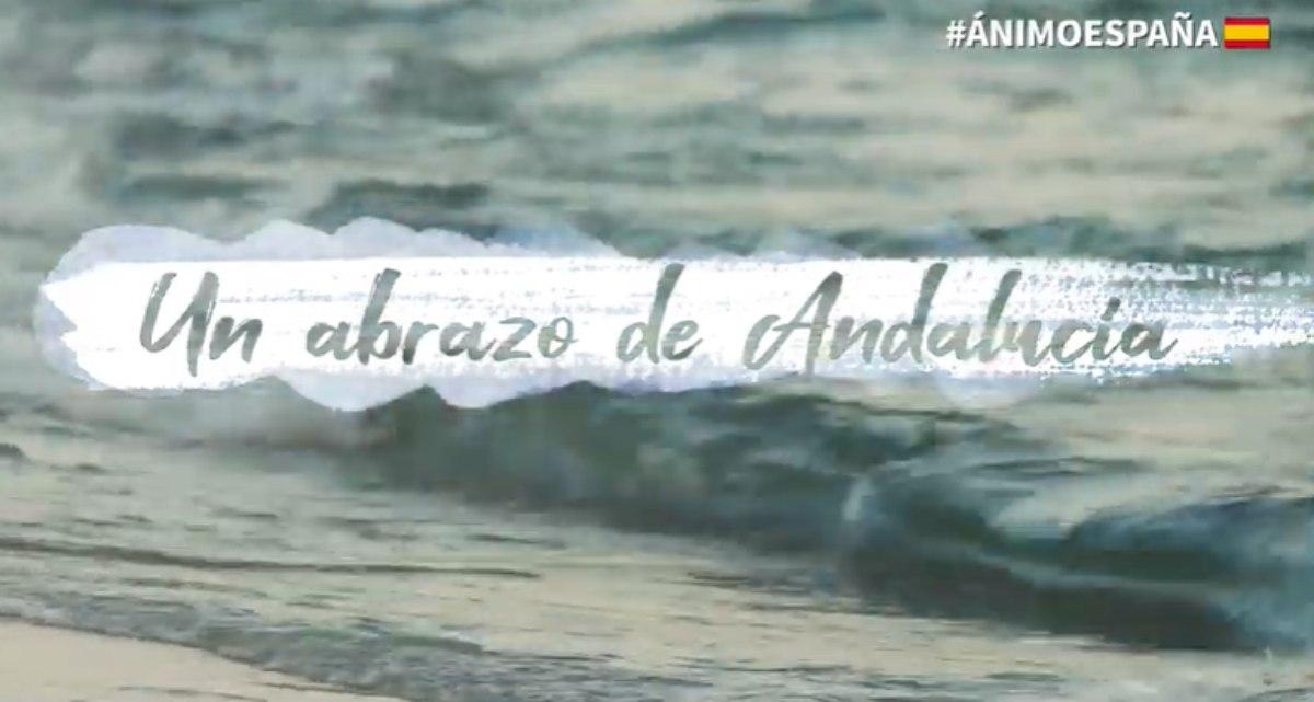 #ÁnimoEspaña: el vídeo motivacional de Andalucía para toda España