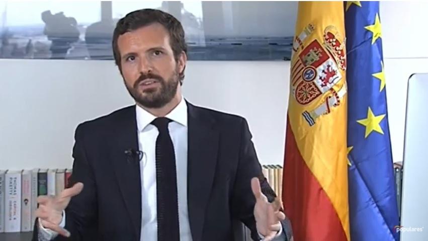 Pablo Casado en una reciente imagen.