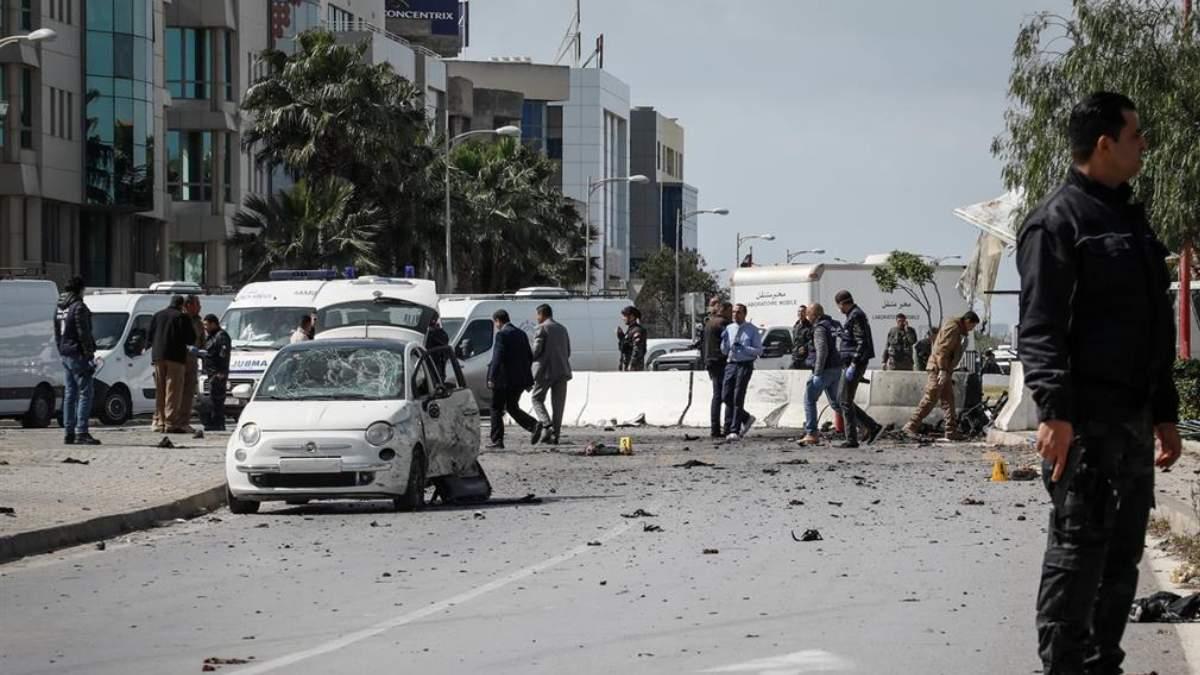 Imagen de archivo de un atentado en Túnez. Foto: EP