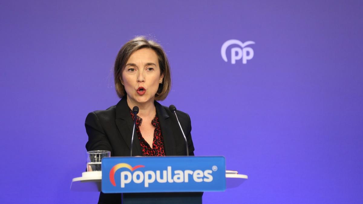 La vicesecretaria de Política Social del Partido Popular, Cuca Gamarra. Foto: EP