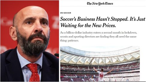 Monchi y el reportaje del 'New York Times' sobre su labor.