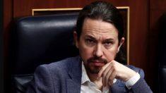 Pablo Iglesias en el Congreso. (Foto: Pool)