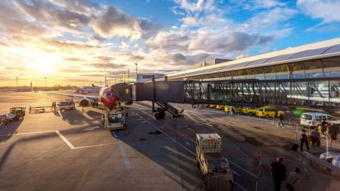 El tráfico aéreo ha caído en un altísimo porcentaje por el coronavirus