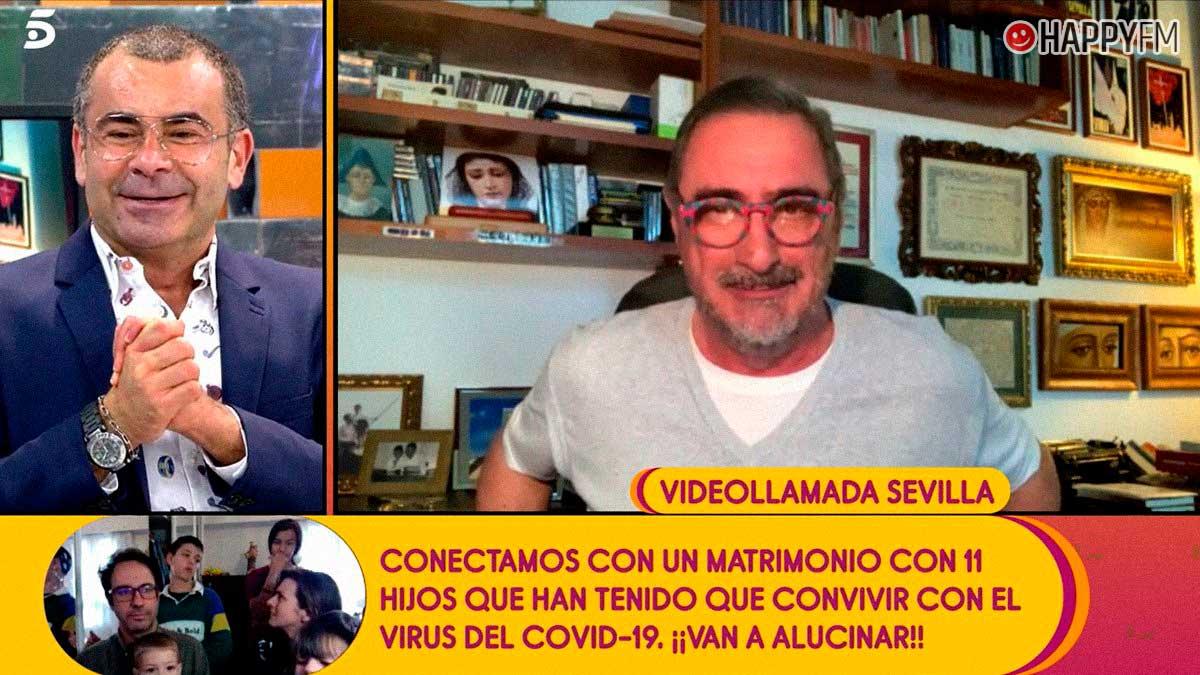 Sálvame: Carlos Herrera anuncia a Jorge Javier Vázquez que podría participar en 'La isla de las tentaciones'