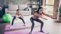 Descubre distintos ejercicios para que los niños se diviertan