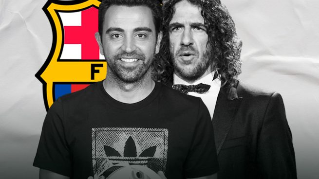 Xavi Hernández y Puyol prefieren mantenerse neutrales en las elecciones del Barcelona