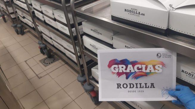 Rodilla reparte 4.000 sándwiches diarios a los colectivos más implicados en la lucha contra el COVID-19
