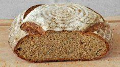 Receta de pan de espelta sin levadura