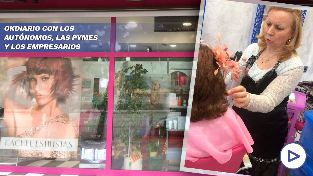 El coronavirus ha provocado el cierre de más de 50.000 peluquerías en el territorio español, que se traduce en perdidas millonarias para un sector vulnerable.