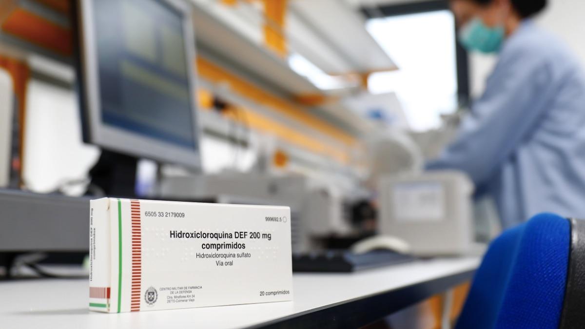 Hidroxicloroquina, uno de los medicamentos que están usando contra el coronavirus. (Foto: Europa Press)