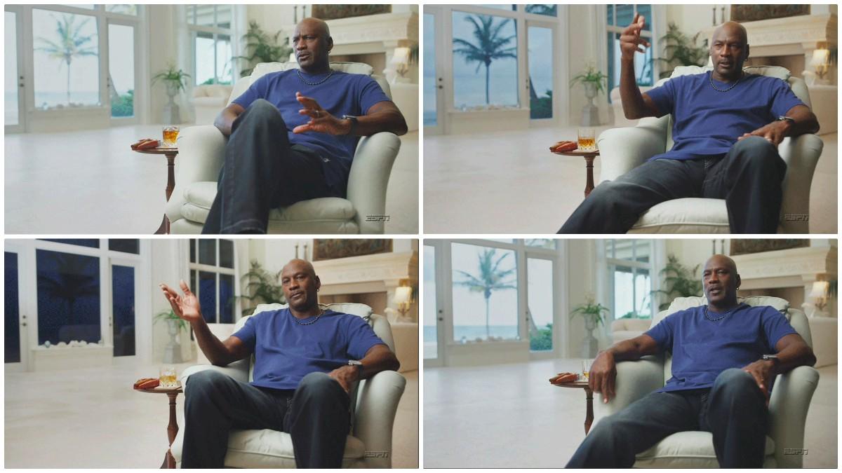 Michael Jordan y el vaso de tequila que llamó la atención a todo el mundo.