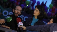 Pablo Echenique e Isa Serra. (Foto: EP)